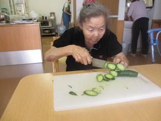 GH菜の花 調理イベント(冷やし中華作り)