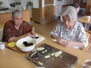 GH菜の花 調理イベント(稲荷寿司・うどん)