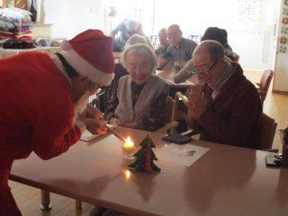 ぬくもりの家のクリスマス会
