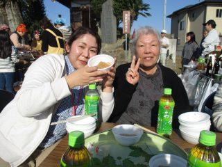 伊坂地区の餅つき会に行ってきました