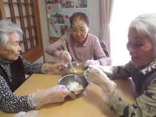 GH菜の花 クッキング(炊飯器でケーキ作り!)