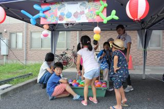 きらら夏祭り&子供参観がありました