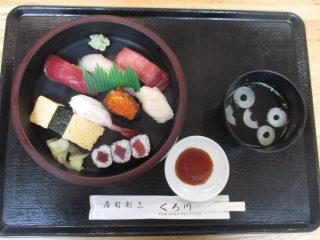 お寿司の出前イベントがありました