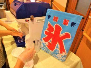 かき氷+カラオケ大会!